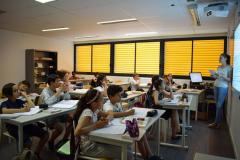 La classe d'histoire géographie