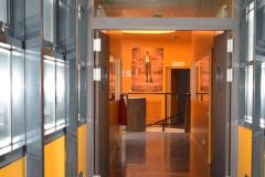 Le couloir du collège