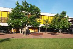 La cour de récréation du collège Marcel Pagnol